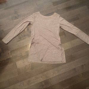 Prana long sleeve tunic tee shirt xs